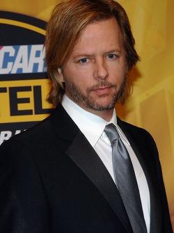 Actor David Spade arrives at the NASCAR Nextel Cup Series Awards Ceremony at the Waldorf Astoria