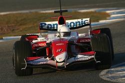 Timo Glock, Toyota F1 Team, TF107