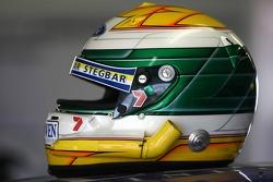 James Courtney's helmet (Jeld-Wen Motorsport Ford Falcon BF)