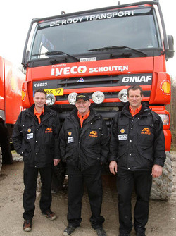 Team de Rooy presentation: team of Hugo Duisters, Yvo Geusens and Michel Huisman