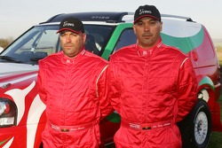 Team Dessoude presentation in Le Galicet: Carlos Oliveira and Jose Madaleno