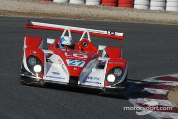 Fredy Lienhard shakes down the Horag Racing Porsche RS Spyder