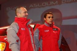Team Dessoude presentation in Saint Lo: Brahim Asloum and Patrick Antoniolli