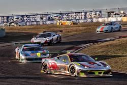 Clearwater车队1号法拉利458 Italia GT3:Alessandro Pier Guidi,Weng Sun Mok