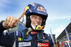 Winner Timmy Hansen, Team Peugeot Hansen