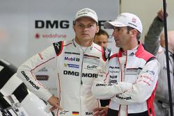 Romain Dumas with Marc Lieb, Porsche Team