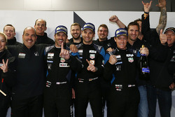 Winners GTE-Am class Patrick Dempsey, Patrick Long, Marco Seefried, Dempsey Proton Competition celebrate with the team