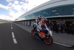 Rick Kelly's MotoGP ride with Mick Doohan