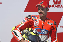 Second place qualifying for Andrea Iannone, Ducati Team