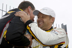 Andy Priaulx, BMW Team Marc VDS celebrates the class win