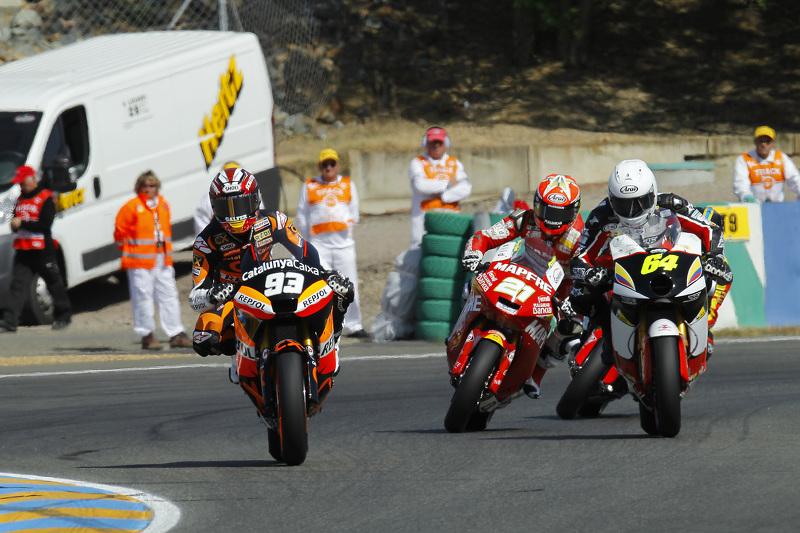 El ganador, Marc Márquez, Team CatalunyaCaixa Repsol Suter