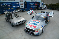 Back to the Future livery for Prodrive Racing