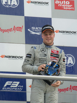 2015 Champion Felix Rosenqvist, Prema Powerteam Dallara Mercedes-Benz
