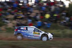 奥特·塔纳克与Molder Raigo,M-Sport车队,福特Fiesta WRC