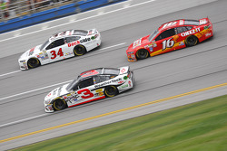 Austin Dillon, Richard Childress Racing Chevrolet and Greg Biffle, Roush Fenway Racing Ford and Josh Wise, BK Racing Toyota