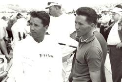 Mario Andretti and Aldo Andretti at Indy