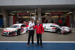 Aditya Patel and Allan McNish