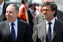 ?Enrique Pena Nieto, Mexican President and Jean Todt, FIA President