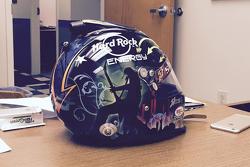 John Hunter Nemechek's helmet