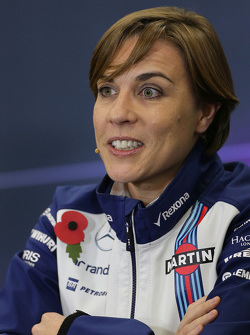 Claire Williams, Williams F1 Team 30
