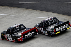 Cole Custer, Jr Motorsports Chevrolet and Gray Gaulding
