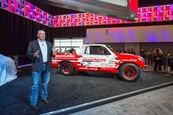 HPD President Art St. Cyr presents the Honda Ridgeline Baja race truck