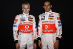 Heikki Kovalainen and Lewis Hamilton