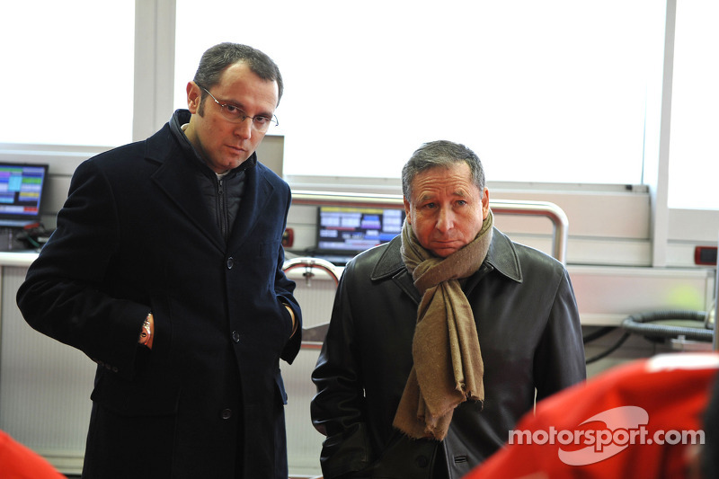 Stefano Domenicali and Jean Todt