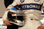 Helmet of Nick Heidfeld