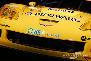 Corvette Racing team use E85 ethanol fuel in the American Le Mans Series