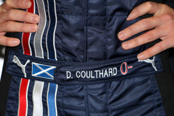 The overall of David Coulthard