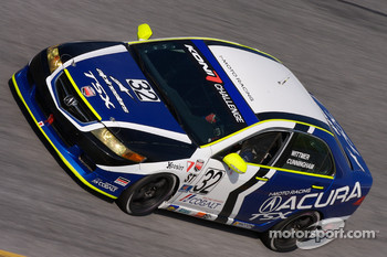 #32 i-MOTO Racing Acura TSX: Peter Cunningham, Kuno Wittmer