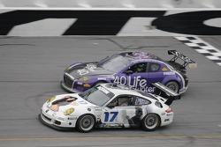 #17 Terra Firma Motorsports Porsche GT3 Cup: Gary Jensen, Mark Jensen, Jordan Taylor, Ron Zitza, #40 Hyper Sport Mazda RX-8: Patrick Dempsey, Charles Espenlaub, Joe Foster, Romeo Kapudija, Scott Maxwell