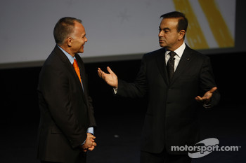 Peter Winsor interviews Carlos Ghosn, Chairman of Renault