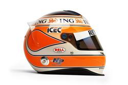 Helmet, Nelson A. Piquet, Renault F1 Team