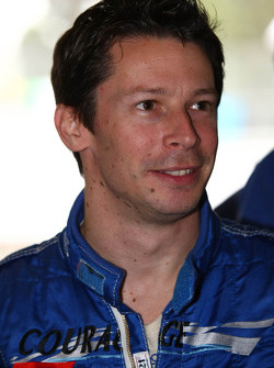 Jonathan Cochet, driver of A1 Team France