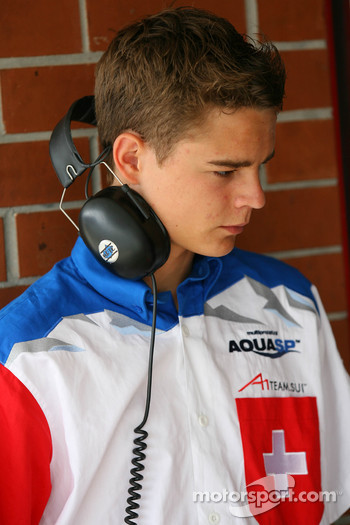 Tom Dillmann, driver of A1 Team Switzerland