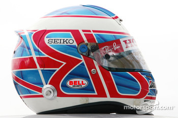 Helmet of Jenson Button, Honda Racing F1 Team