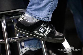 Shoes of Tony Stewart