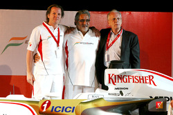 Michiel Mol, Vijay Mallya and Jan Mol