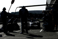 Nico Rosberg, WilliamsF1 Team, FW30, pitstop