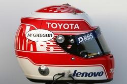 Helmet, Kazuki Nakajima, Williams F1 Team