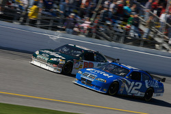 Dale Earnhardt Jr. and Ryan Newman
