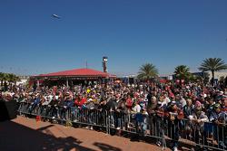 Fan forum with NASCAR legends Junior Johnson and Buddy Baker
