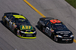 Martin Truex Jr. and Brian Vickers