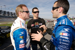 Kenny Wallace, Max Papis and Dario Franchitti