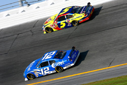 Ryan Newman and Casey Mears