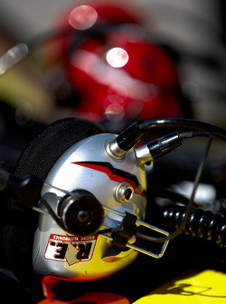 Racing Electronic headgear is the standard