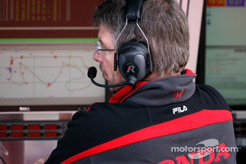 Ross Brawn Team Principal, Honda Racing F1 Team