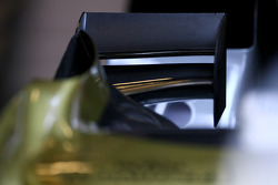 Force India F1 Team wing detail